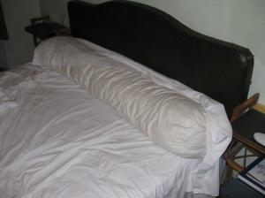 The sausage pillow