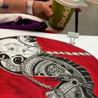 Chemo, coffee and carousel horses